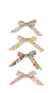 Floral Bow Hairclips - The Brant Foundation Shop
