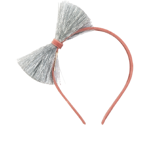 Silver Tinsel Head Band - The Brant Foundation Shop