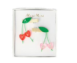 Cherry Hair Clips - The Brant Foundation Shop