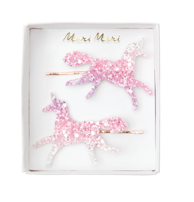Unicorn Hair Clips - The Brant Foundation Shop
