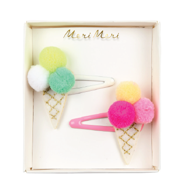 Ice Cream Hair Clips - The Brant Foundation Shop