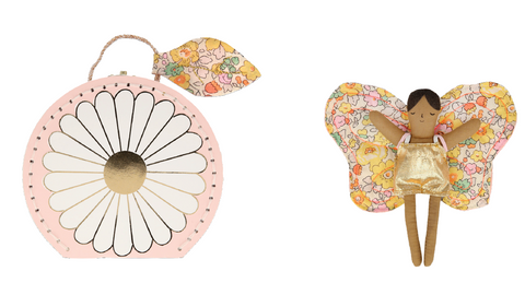 Butterfly Daisy Mini Suitcase - The Brant Foundation Shop