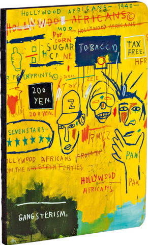 "Basquiat ""Hollywood Africans"" Journal - The Brant Foundation Shop"