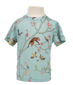 Karen Kilimnik Allover Chinoiserie T-Shirt (Kids) - The Brant Foundation Shop