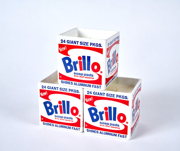 Andy Warhol Brillo Box Scented Candle - The Brant Foundation Shop