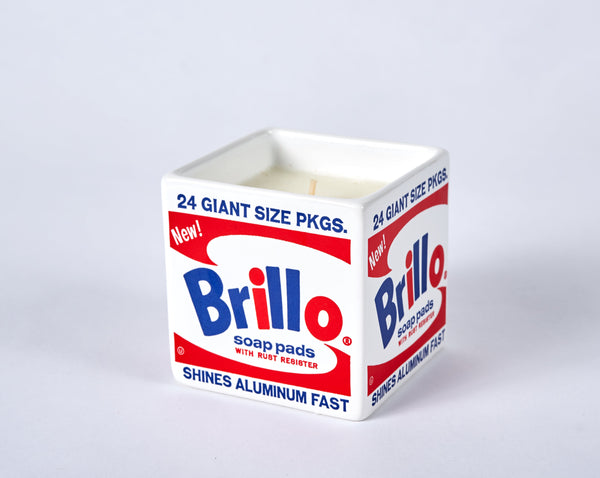 Andy Warhol Brillo Box Scented Candle
