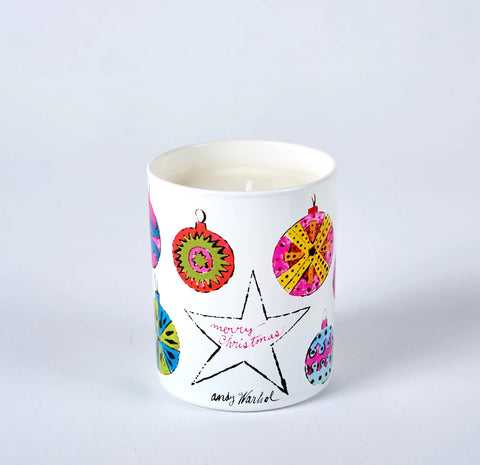 Andy Warhol Scented Holiday Candle