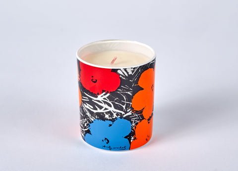 Andy Warhol Scented Flower Candle