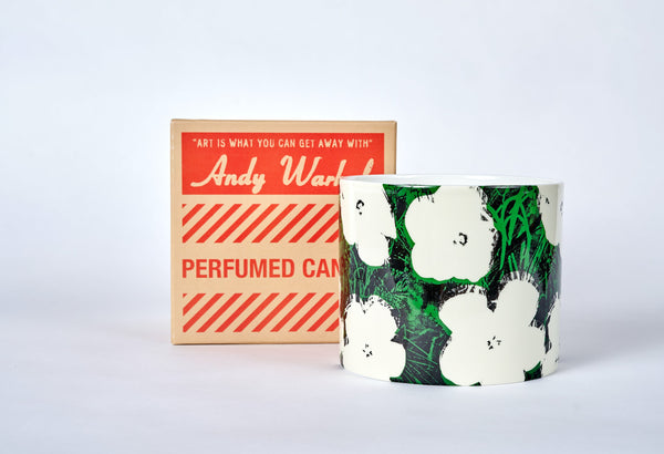 Andy Warhol Giant Flower Candle - The Brant Foundation Shop