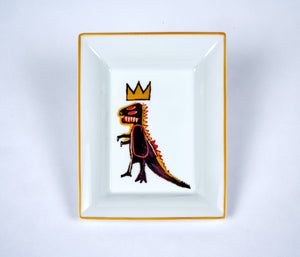 Jean-Michel Basquiat Porcelain Tray - Pez Dispenser