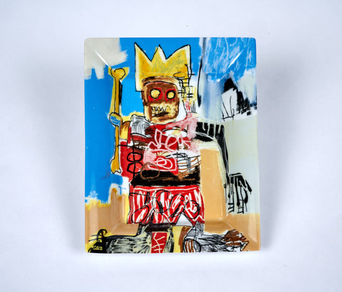 Jean-Michel Basquiat Porcelain Tray - The Brant Foundation Shop