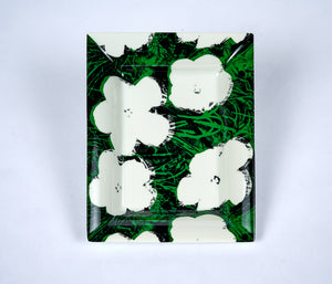 Andy Warhol Porcelain Flower Tray