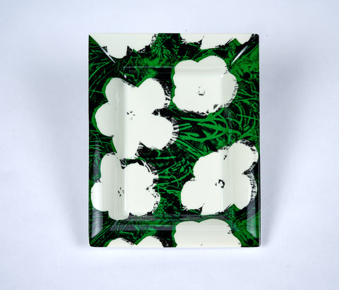Andy Warhol Porcelain Flower Tray - The Brant Foundation Shop