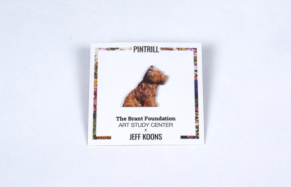 Jeff Koons Puppy Pin - The Brant Foundation Shop