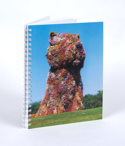 Jeff Koons Puppy Notebook