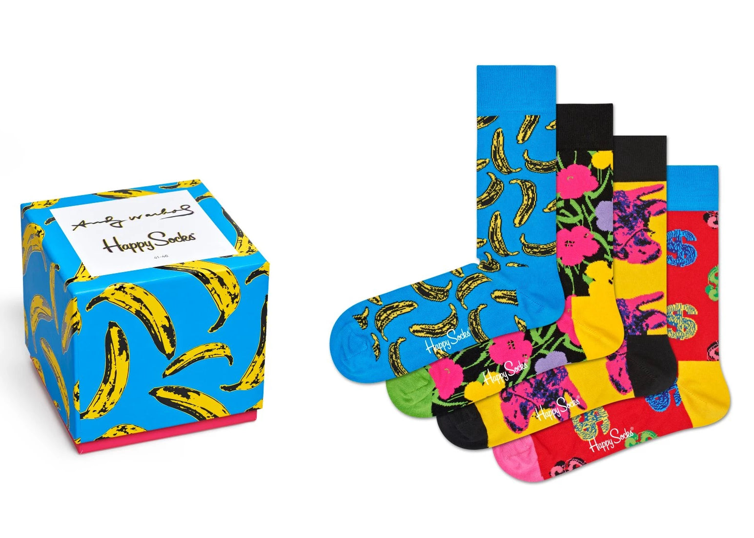 Andy Warhol Sock Set - The Brant Foundation Shop