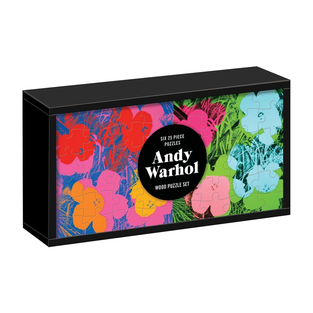 Andy Warhol Wooden Puzzle Set