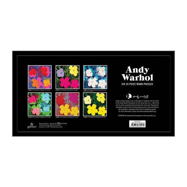 Andy Warhol Wooden Puzzle Set - The Brant Foundation Shop
