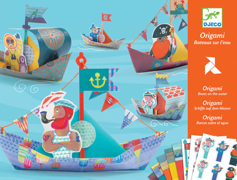 Djeco Origami Floating Boats - The Brant Foundation Shop