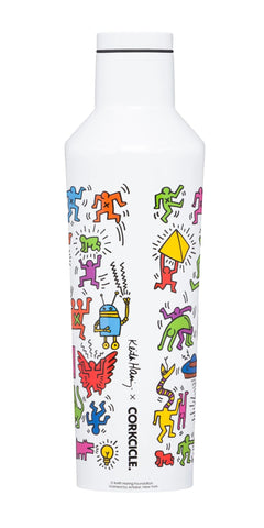 Keith Haring 16oz. Canteen - The Brant Foundation Shop