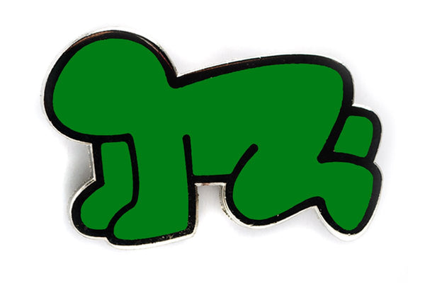 Keith Haring Radiant Baby Pin - The Brant Foundation Shop