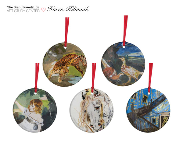Karen Kilimnik Ornament Set
