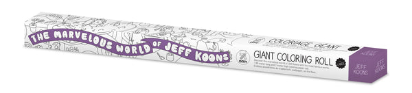 Jeff Koons - XXL Coloring Roll - The Brant Foundation Shop