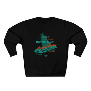 Open image in slideshow, Chicago Crewneck - Black