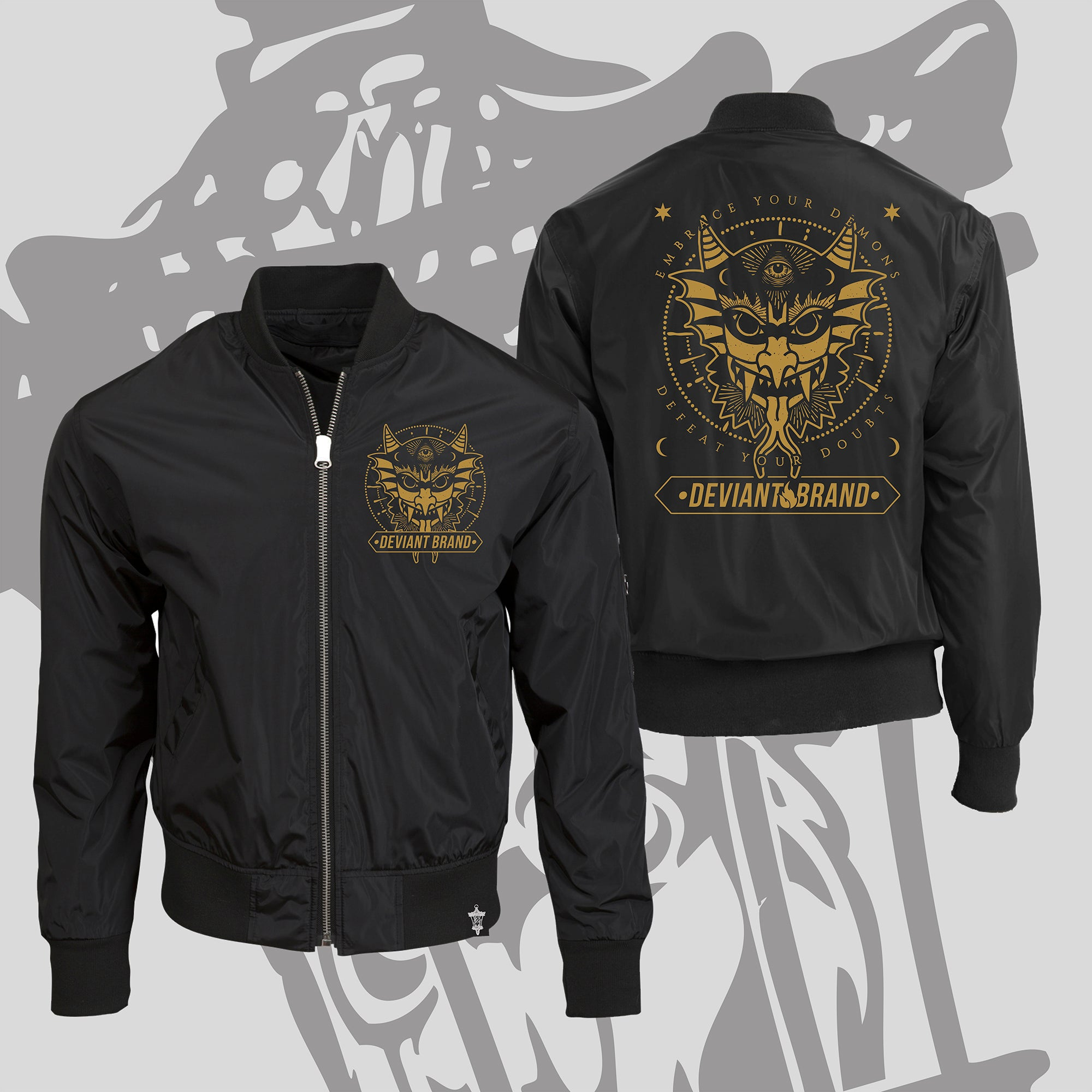 **Limited** Demon Bomber Jacket! Ends 02/02/20!