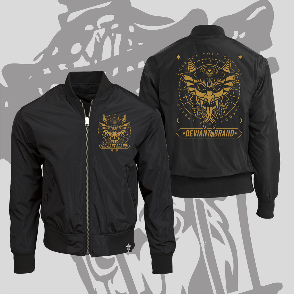 **Limited Edition** Demon Bomber Jacket! Only Available Until 2/28!!