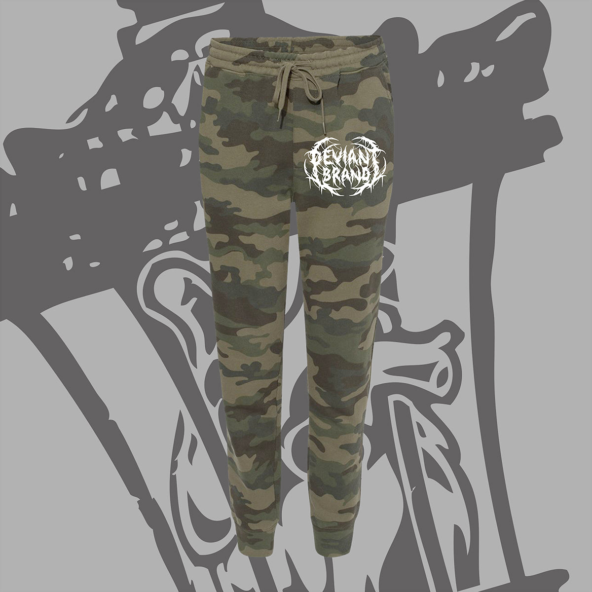 "**NEW** ""Metal AF"" Camo Jogger Pants!"