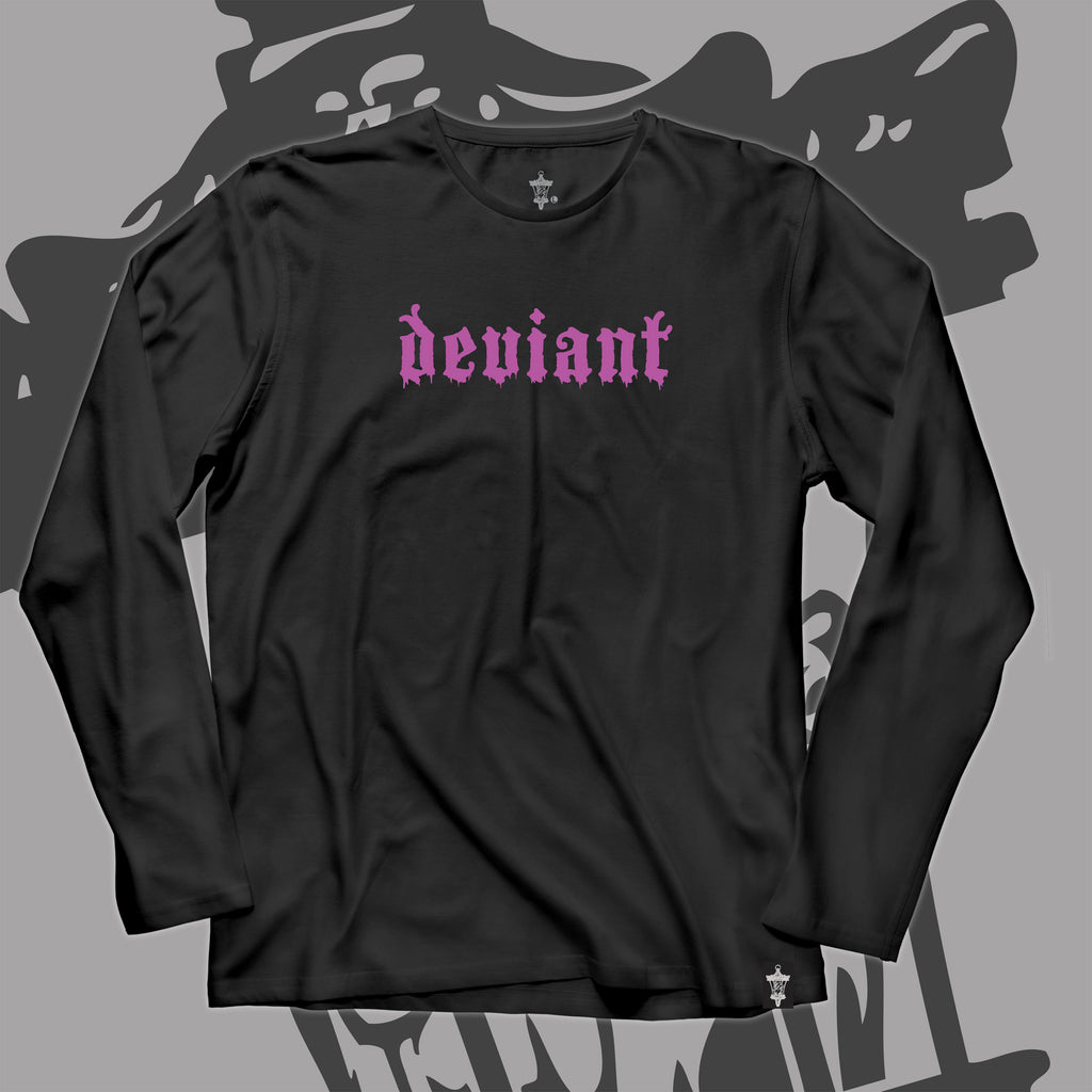 "**NEW** ""Drip Logo"" Long Sleeve Tee!"