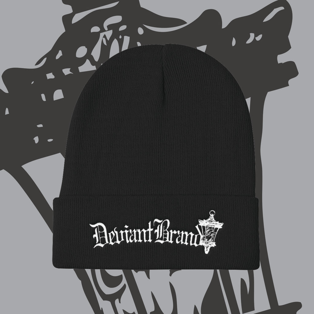 Deviant Clothing Embroidered Beanie!