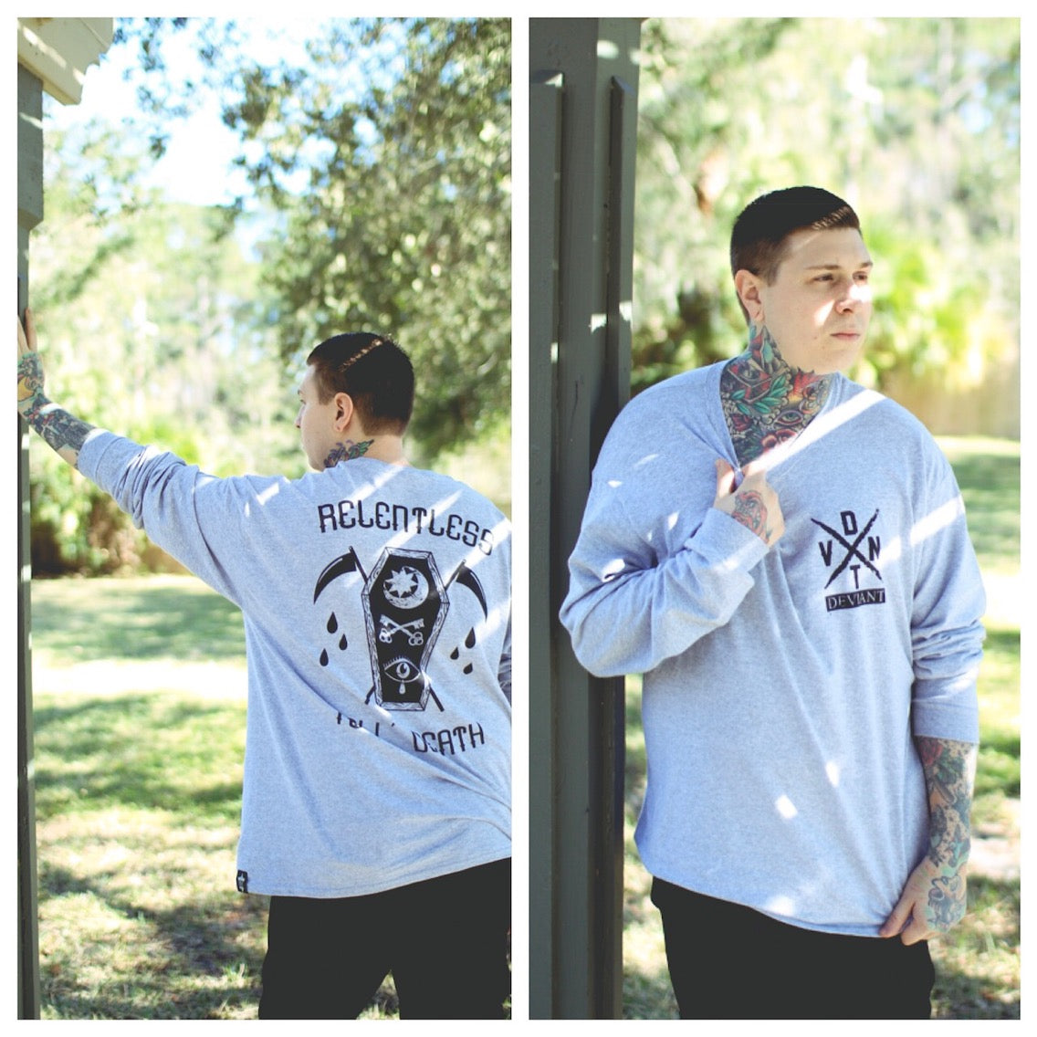 """Coffin"" Long-Sleeve Tee Shirt!"