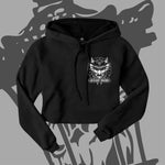 "Women's ""Demon"" Crop Top Hoodie!"