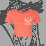 "**NEW** Women's ""Demon"" Cropped Tee!"