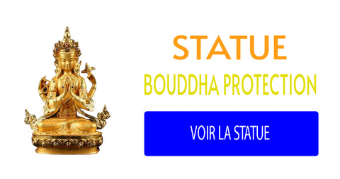 statue bouddha protection