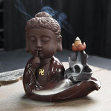 bouddha support encens
