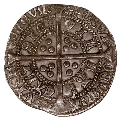 1422-1430 Henry VI Calais Mint Silver Groat S-1836 - Extremely Fine