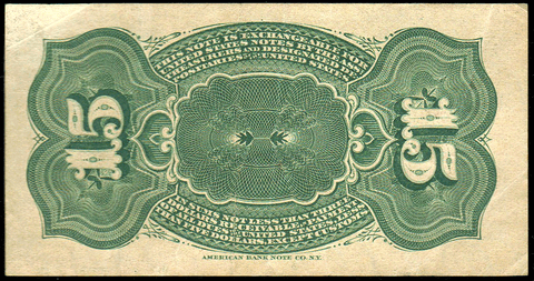 (1869-1875) 4th Issue 15¢ Fractional Fr. 1267 ~ Extremely Fine