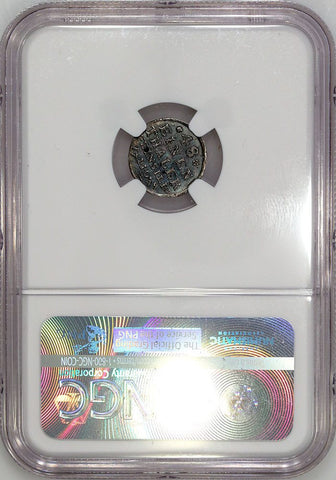 1748 German States, Stolberg Silver 1/48TH Thaler KM.230 - NGC MS 61 (Top Grade)