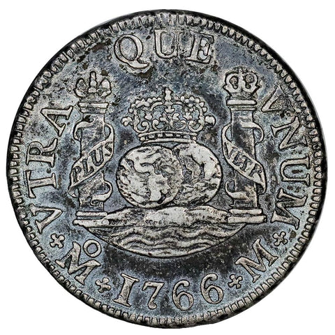 Mexico, 1766-M Silver 2 Reales - KM.87 - Extremely Fine Detail