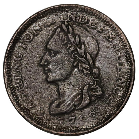 1783 Washington & Independence Contemporary Electrotype - XF