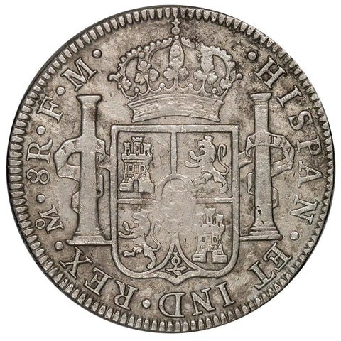 1794-FM Mexico Silver 8 Reales KM.109 - Very Fine Details (Salt Water Damage)