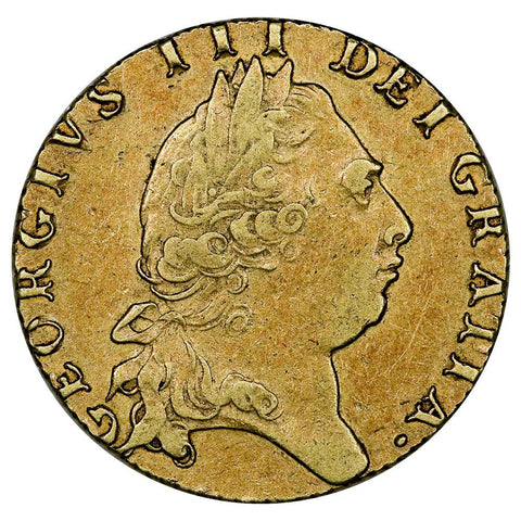 1795 Great Britain Gold Guinea KM.609 - Very Fine