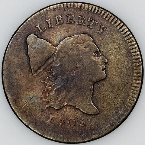 1795 Liberty Cap Half Cent - No Pole/Plain Edge ~ Very Fine