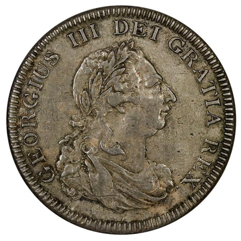 1804 Great Britain George III Silver 5 Shillings (Dollar) - KM.Tn1 - Extremely Fine