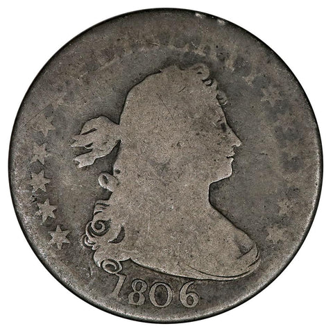 1806 Draped Bust Quarter - Wholesome Good