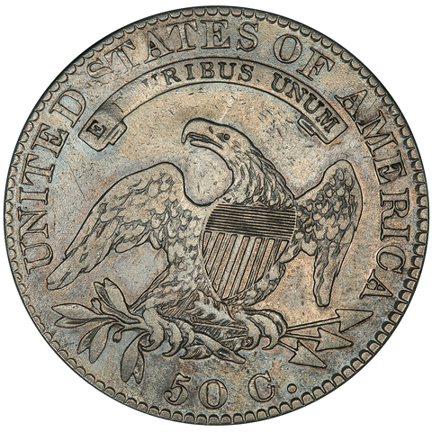1819 Capped Bust Half Dollar - Overton 107 (R4) - Very Fine