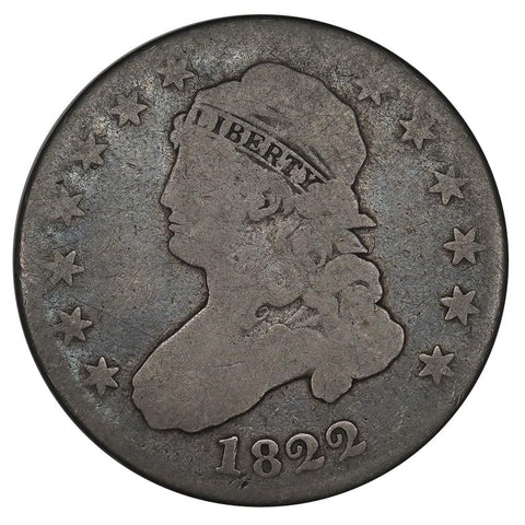 1822 Capped Bust Quarter - About Good/Good